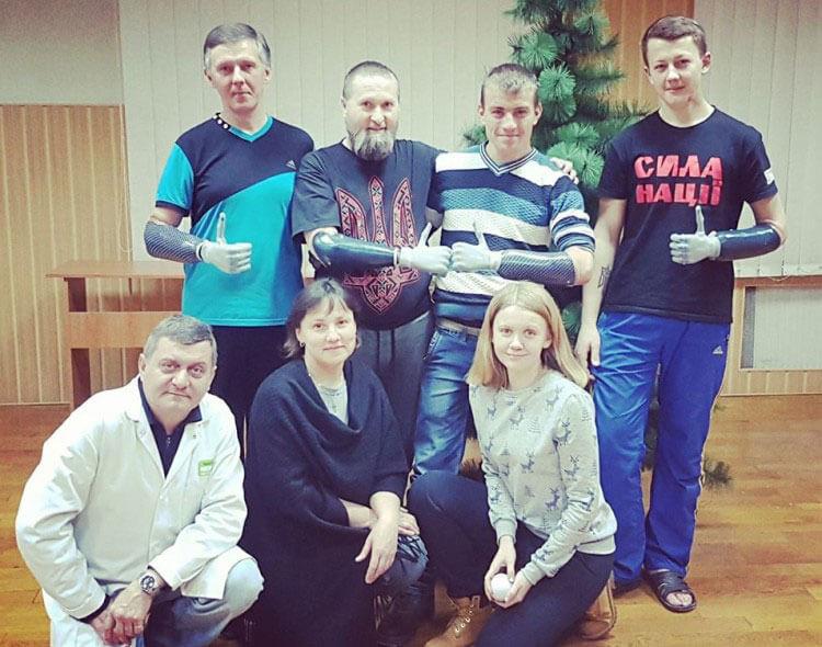 Про іноваційні протези для українських бійців (ВІДЕО)