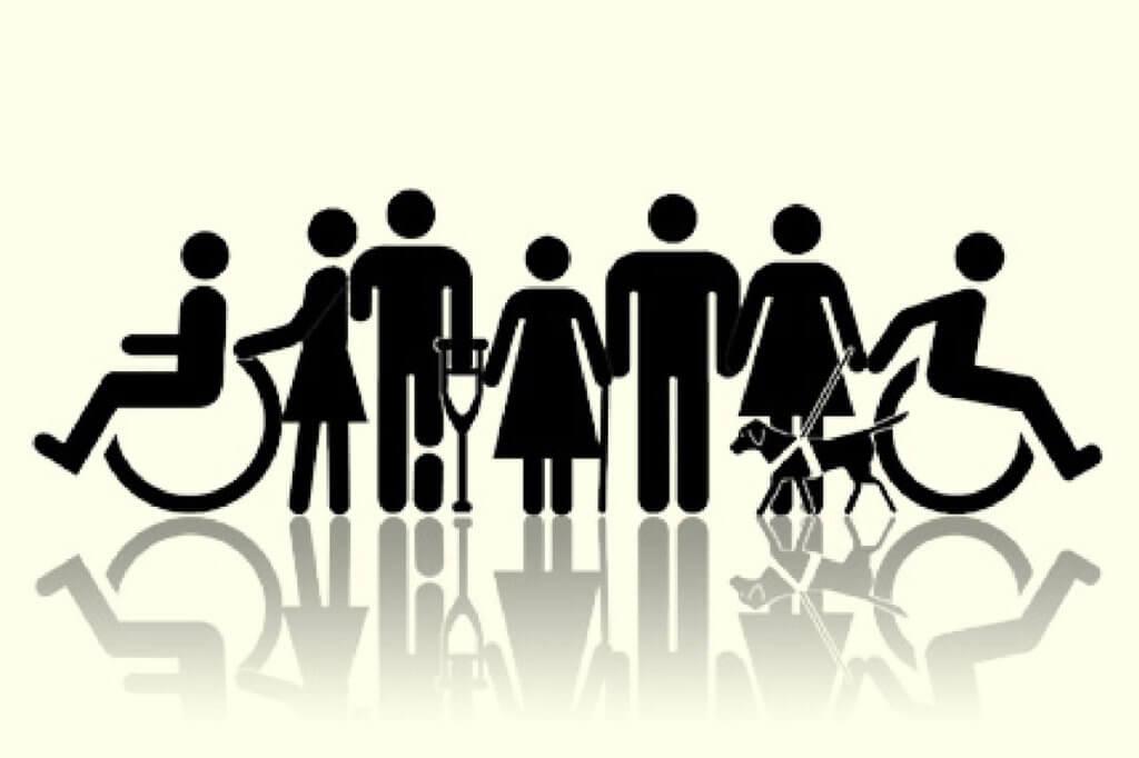 У міській владі повідомили, скільки закладів в Черкасах справді доступні для маломобільних осіб. черкаси, доступність, обмеженими можливостями, пандус, інвалід, design, cartoon, graphic, drawing, sketch, vector graphics. A close up of a logo