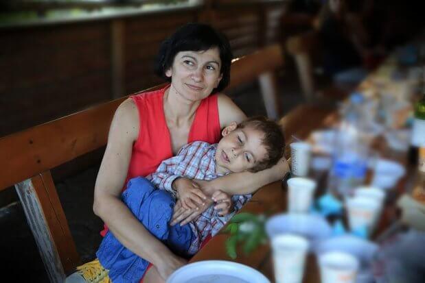 Мама, яка виховує особливу дитину: «Я щасливіша за багатьох матерів». оксана драчковська–довгань, спадкове захворювання, спінальна аміотрофія, страшний діагноз, інвалідність