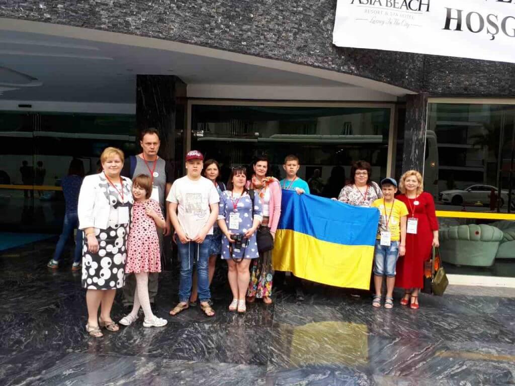 Луцькі «діти дощу» представляли Україну на фестивалі у Туреччині (ФОТО)