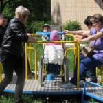 Світлина. Урочисте відкриття майданчика для дорослих та дітей з обмеженими фізичними можливостями. Реабілітація, інвалідність, інвалід, обмеженими фізичними можливостями, Біла Церква, спортивно-розважальний комплекс