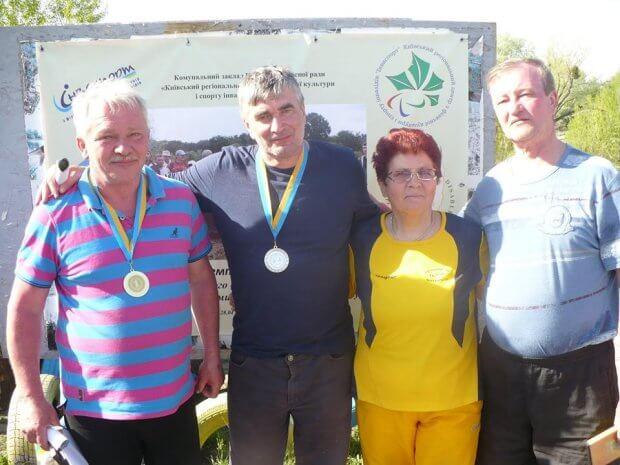 Волинські рибалки привезли з Києва золото та срібло. чемпіонат україни, змагання, команда волині, рибна ловля, спортсмен-інвалід