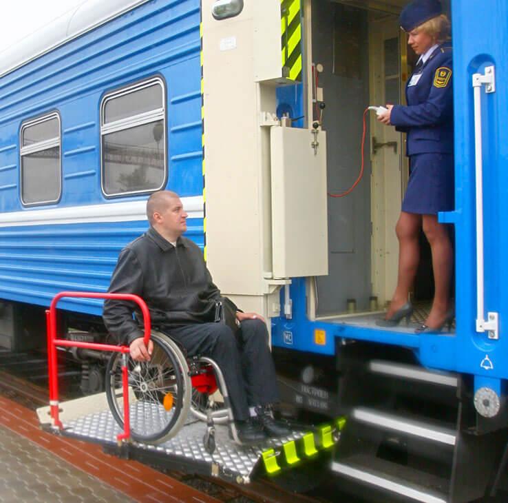 З початку року Придніпровська залізниця перевезла 178 пасажирів з обмеженими фізичними можливостями