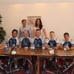 Світлина. Американские спортсмены поддержали украинскую молодежь, болеющую сахарным диабетом. Спорт, болезнь, сахарный диабет, команда Novo Nordisk, велогонка Race Horizon Park, американские спортсмены-велогонщики