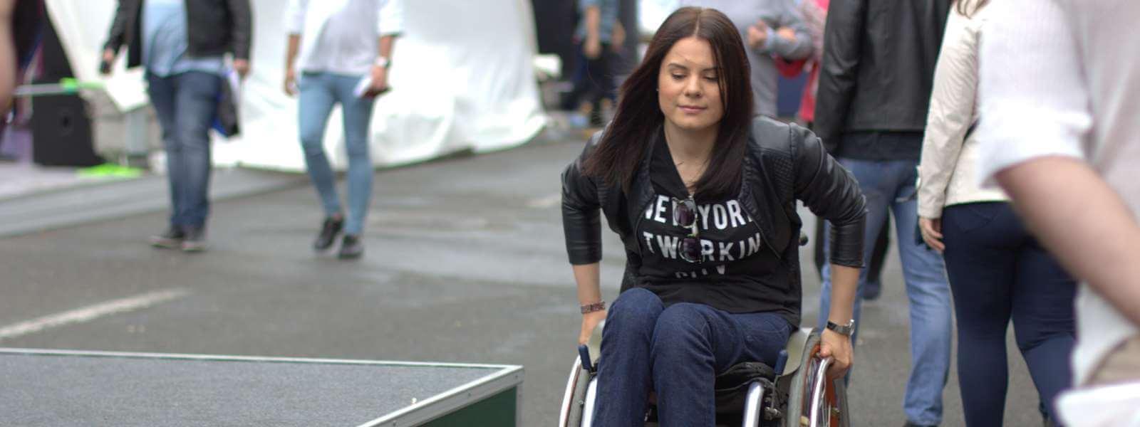 Юлія Ресенчук: «Я хочу сказати людям із інвалідністю, що не треба нічого боятися»