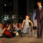 Світлина. В Харькове прошел показ мод: Модные вещи на себя примерили женщины на инвалидных колясках. Новини, инвалидность, ограниченными возможностями, показ мод, Life is life, KharkivFashion