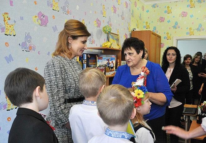 Близько 350 дітей Житомирщини навчатимуться у школах з інклюзією – Марина Порошенко