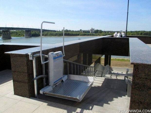 Подземные переходы в Одессе хотят оборудовать «лифтами» для инвалидов. одесса, инвалид, инвалидность, подземный переход, специальная платформа