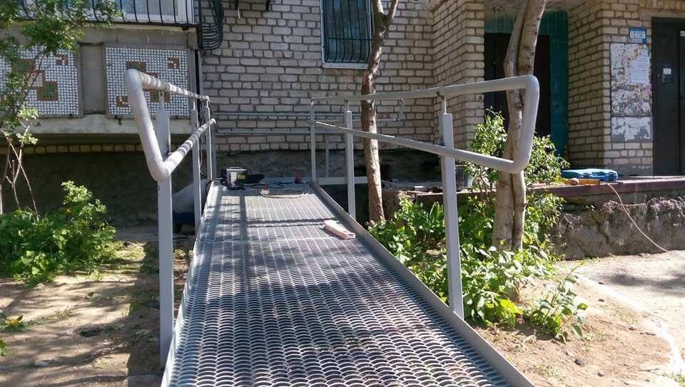 Участники «Бизнес-инкубатора» возьмутся в Николаеве за обустройство пандусами домов, где живут колясочники