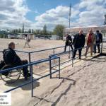 Світлина. Комиссия проверила готовность пляжей для людей с ограниченными возможностями. Безбар'ерність, инвалид, ограниченными возможностями, Одесса, пляж, отдых
