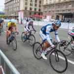 Світлина. Американские спортсмены поддержали украинскую молодежь, болеющую сахарным диабетом. Спорт, болезнь, сахарный диабет, американские спортсмены-велогонщики, команда Novo Nordisk, велогонка Race Horizon Park