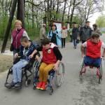 Світлина. Ужгородці знайомилися з безбар'єрними міськими лісами Кошиць. Безбар'ерність, інвалідність, доступність, обмеженими можливостями, Ужгород, Кошице