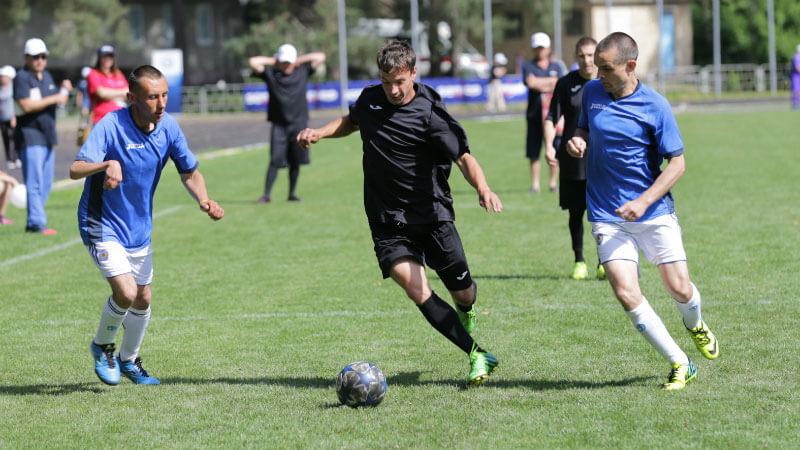 У Києві відбувся XII Міжнародний футбольний турнір для людей з особливими потребами Seni Cup 2017 (ФОТО)