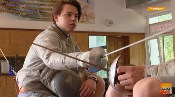 Як черкаський фехтувальник з інвалідністю здобув три бронзи Кубка світу (ВІДЕО)