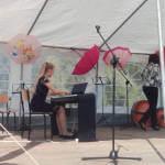 Світлина. Луцькі музиканти дарували свій талант учасникам спеціалізованого родинного пікніка у Польщі. Новини, дитина-інвалід, Польща, неповносправний, музикант, родинний пікнік