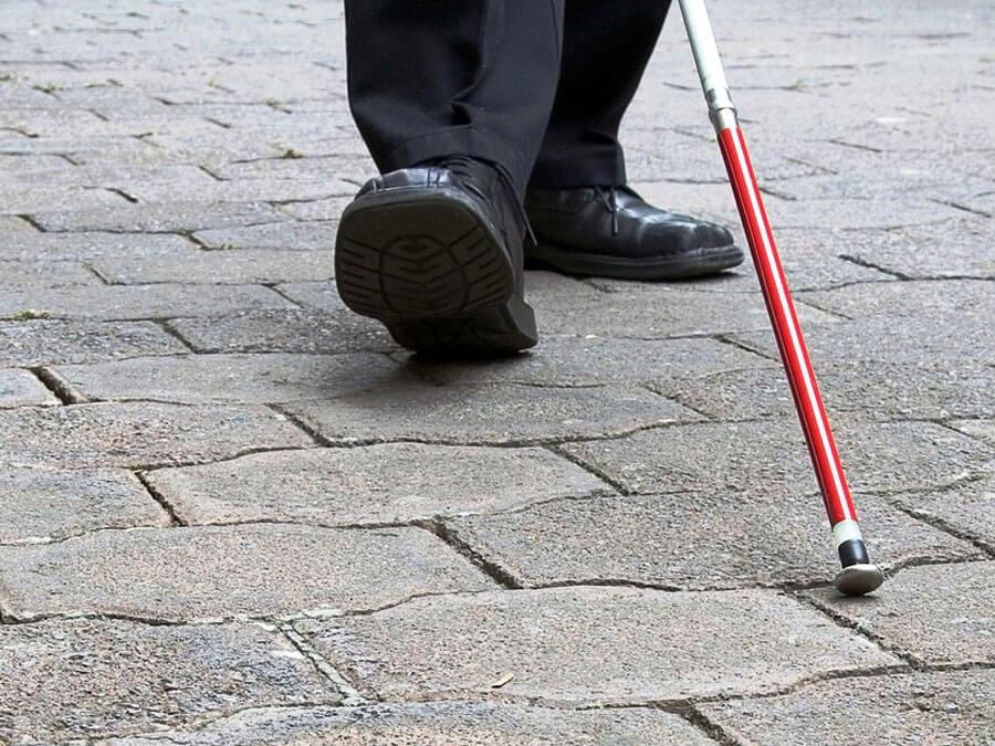 Історія незрячого пенсіонера: перший – і вдалий крок до безоплатної допомоги