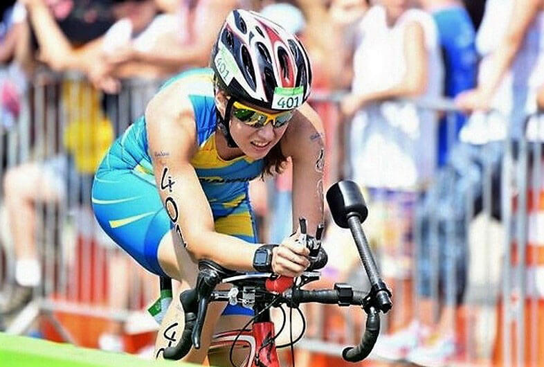 На чемпіонаті Європи з триатлону паралімпійка Аліса Колпакчи виборола єдину медаль для України