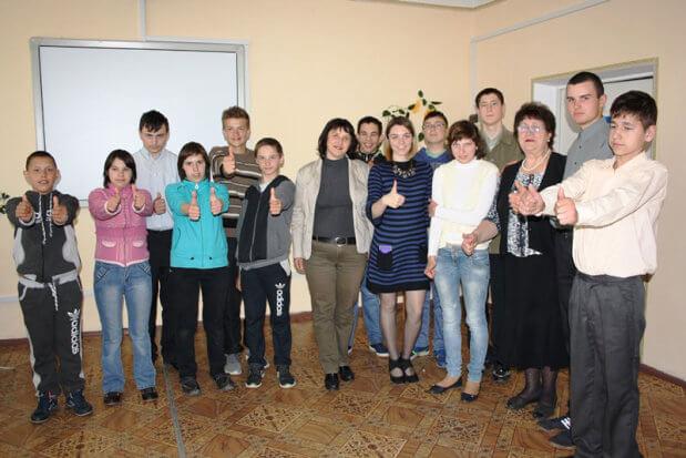 Вихованці Новомиргородської школи-інтернат для глухих обирали професію. новомиргород, глухий, профорієнтаційний захід, центр зайнятості, школа-інтернат