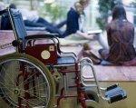 Большинство украинских школ доступны для детей с инвалидностью только на бумаге – Сушкевич. валерий сушкевич, доступность, инвалид, инвалидность, школа, bicycle, land vehicle, wheel, vehicle, tire, car, bicycle wheel, auto part, cart. A person sitting on a bicycle
