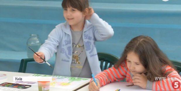 """""""911"""": у Києві створили реабілітаційний центр для """"особливих діток"""" з Донбасу. київ, арт-терапія, волонтер, окупований донбас, особливими потребами"""