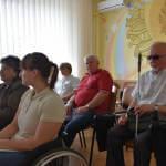 Світлина. Відбулося засідання комітету забезпечення доступності інвалідів та інших маломобільних груп населення. Безбар'ерність, інвалідність, інвалід, доступність, засідання, Луцьк