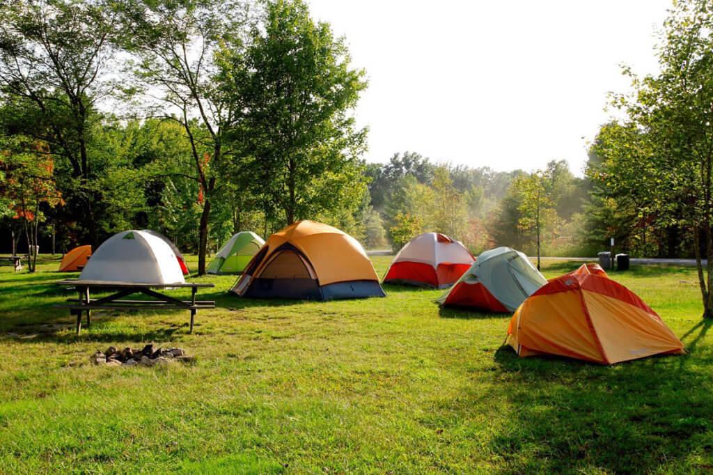 """Табір без обмежень: поблизу Вінниці вдруге відбудеться інклюзивний """"Connection Camp"""". вінницька область, табір, інвалідність, інклюзивний connection camp, інклюзія, tree, grass, outdoor, outdoor object, tent, camping, tarpaulin, field, park, umbrella. A tent in a grassy field"""
