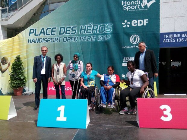 Херсонка Яна Лєбєдєва здобула гран-прі з легкої атлетики у Парижі. париж, яна лєбєдєва, легка атлетика, міжнародні змагання, інвалід