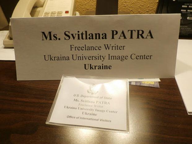 Представниця Університету «Україна» мала можливість розповісти про рідний виш у Вашингтоні. сша, університет «україна», обмеженими можливостями, інвалід, інвалідність