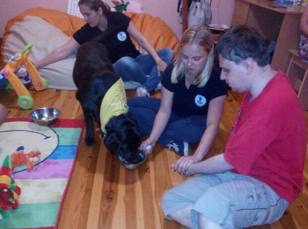 Діткам допомагають навіть тварини. фастів, вади здоров'я, канистерапия, особливими потребами, іпотерпія