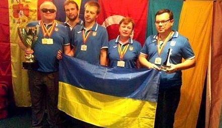 Українські шахісти з порушеннями зору стали другими на Всесвітній шаховій олімпіаді