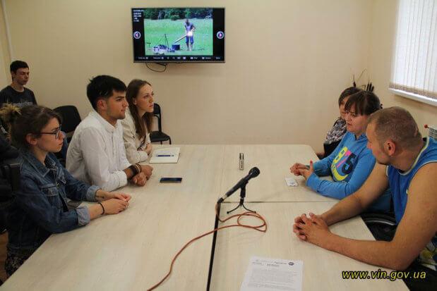 На Вінниччині проходитиме інклюзивне таборування Connection 2. вінниччина, прес-конференція, табір connection 2, інвалідність, інклюзивне таборування