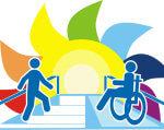 Допомога людям з інвалідністю – важливе завдання Херсонської обласної служби зайнятості. херсонська область, працевлаштування, служба зайнятості, інвалідність, інтеграція, cartoon, design, graphic, illustration, vector, poster, typography, vector graphics. A close up of a logo