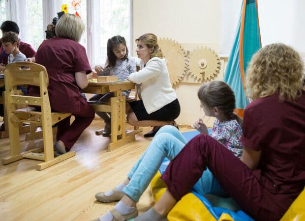Марина Порошенко презентувала проект ресурсної кімнати для інклюзивних шкіл України. марина порошенко, особливими освітніми потребами, презентація, ресурсна кімната, інклюзивна школа