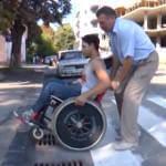 Соціальний експеримент від #Тиса_LIVE. Чи став Ужгород комфортним для інвалідів за 10 років? (ВІДЕО)