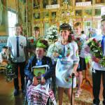 Із церкви дружину повіз на… своєму інвалідному візку