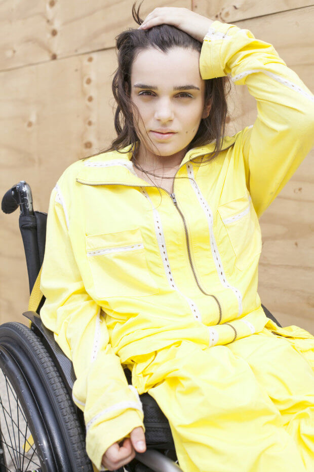 Александра Кутас о том, как покорить Нью-Йорк. александра кутас, нью-йорк, инвалидность, контракт, модель