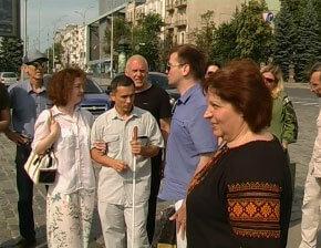 У Харкові проводять екскурсії для людей із особливими потребами