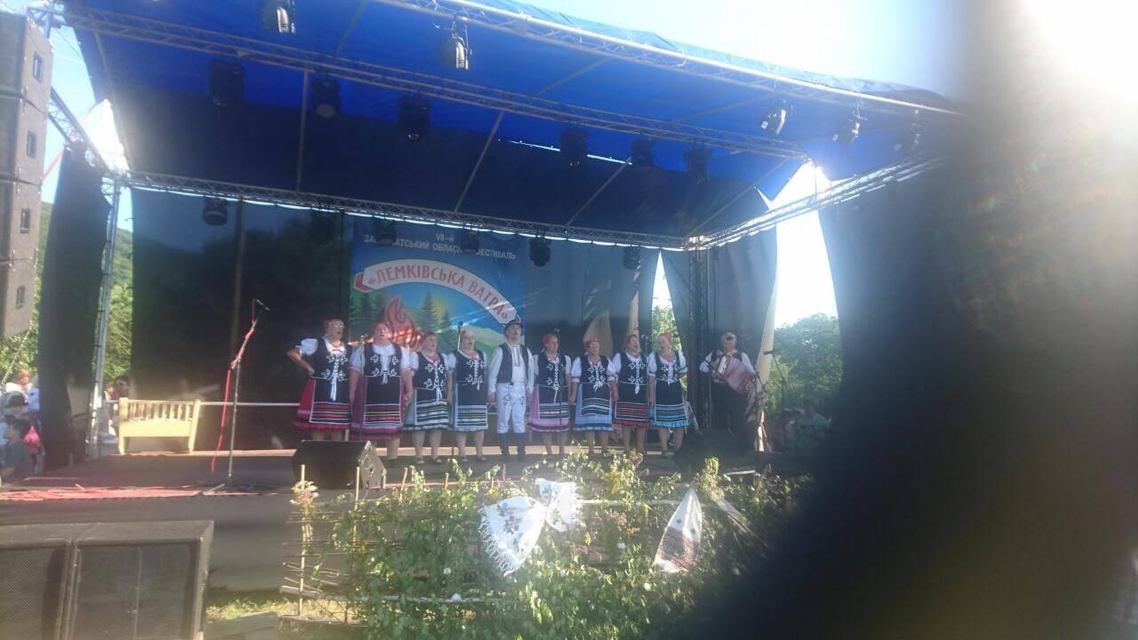 Ансамбль словацької асоціації інвалідів з міста Михайловці яскраво виступив на фестивалі «Лемківська ватра» (ФОТО)