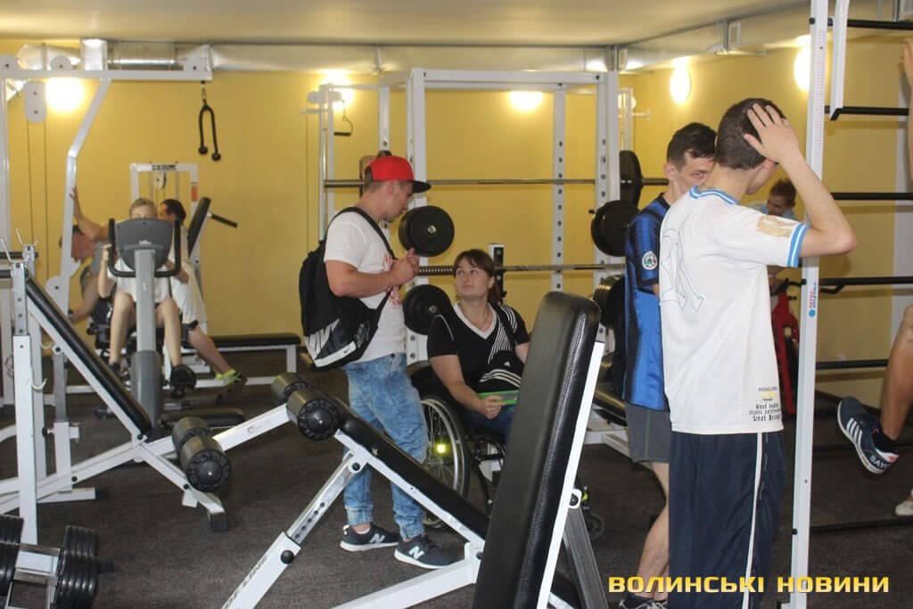 У Луцьку для людей з інвалідністю відкрили новий тренажерний зал (ФОТО)