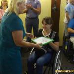 Світлина. У Луцьку для людей з інвалідністю відкрили новий тренажерний зал. Спорт, інвалідність, особливими потребами, інвалід, Луцьк, тренажерний зал