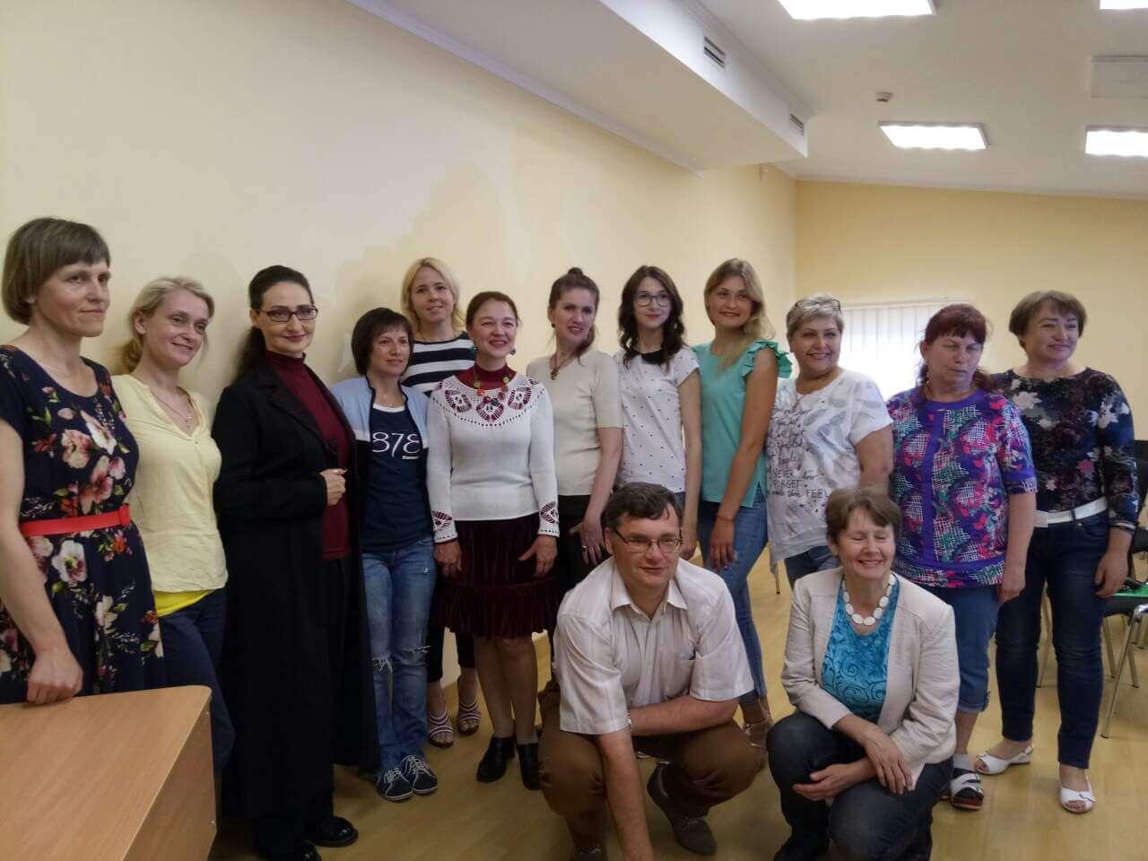 Освітяни Кам`янського ділилися досвідом на всеукраїнському семінарі