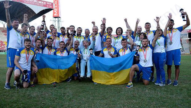 Національна дефлімпійська збірна команда України з тріумфом повертається на Батьківщину. дефлімпійські ігри, змагання, порушення слуху, спортсмен, інвалід