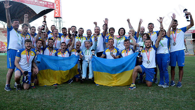 Національна дефлімпійська збірна команда України з тріумфом повертається на Батьківщину