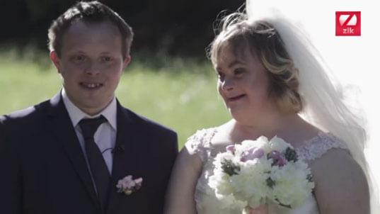 «Добрий ZIK» організував весілля для сонячних закоханих (ВІДЕО)