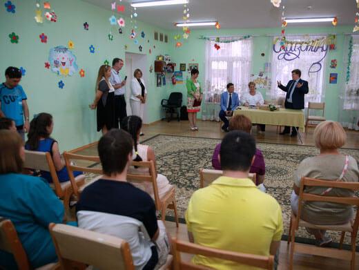 Віце-прем`єр-міністр України відвідав Одеський міський реабілітаційний центр