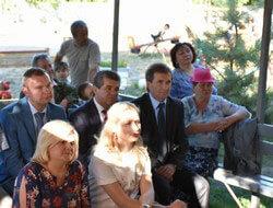 На Черкащині керівник Держслужби зайнятості Валерій Ярошенко відвідав громадську організацію, яка допомагає молоді з обмеженими фізичними можливостями