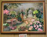 Як криворіжанка створює казковий світ. наталія біденко, вади зору, майстриня, творчість, інвалідність, flower, painting, indoor, vase, funeral, plant, decorated, window, arranged, several. A vase of flowers on a table