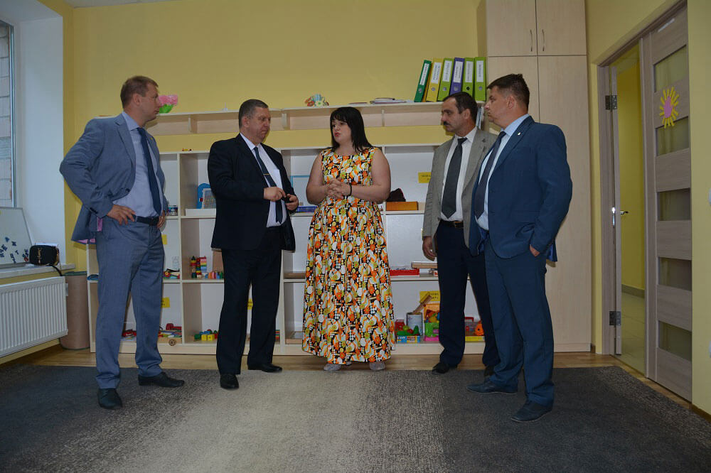 Міністр соціальної політики України відвідав Тернопільський обласний центр соціальної реабілітації дітей-інвалідів