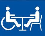 Роботодавці та держава повинні разом вирішувати проблему працевлаштування інвалідів. обмеженими можливостями, працевлаштування, роботодавець, трудова діяльність, інвалід, clipart, abstract, design, screenshot, typography, graphic, text, logo, font, illustration. A drawing of a face