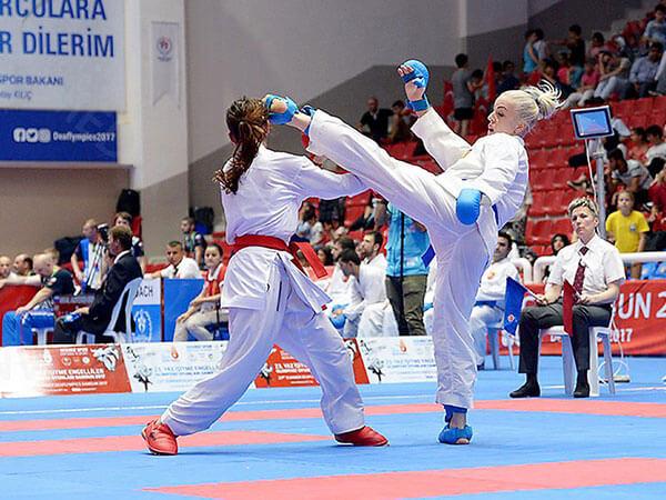 Инна Мажара: «Биться в гипсе неудобно, поэтому сняла его на второй день». дефлимпийские игры, инна мажара, инвалидность, каратистка, нарушение слуха
